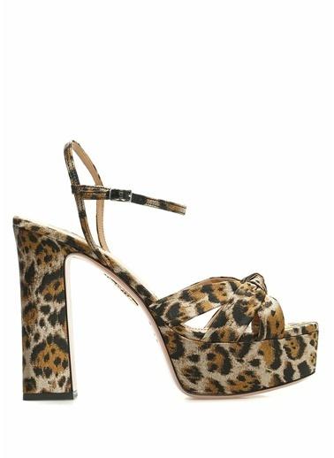Aquazzura Ayakkabı Leopar